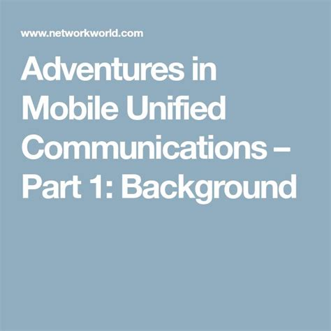 mobile unified communications best 25 unified communications ideas on voip