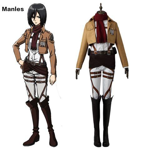 T Shirt Animeshingeki No Kyojin Traning Corps aliexpress buy attack on titan costume mikasa ackerman clothes anime shingeki no