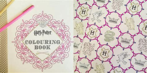 harry potter coloring book completed how do you treat yourself heroine