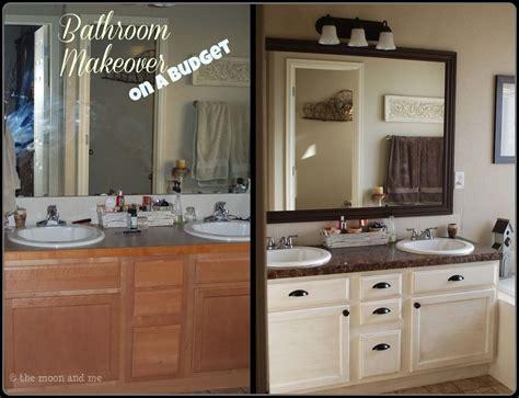 hometalk master bath budget friendly makeover
