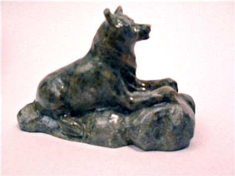 Wolf Soapstone Sculptures soapstone carving or sculptures