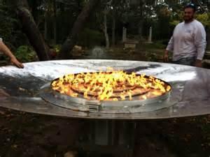 lp gas pit custom fireplace metal pans basket burners gas