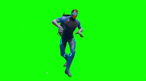 Screen Default fortnite season 4 new skin green screen default