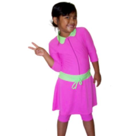 Baju Renang Bayi Perempuan Baju Renang Anak Perempuan Polos Stndar