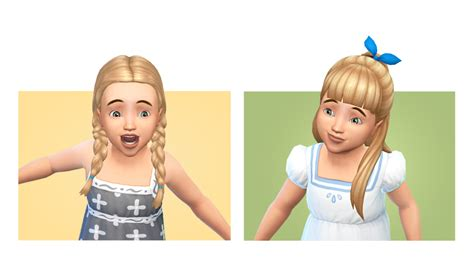 ponytailsims 4 child my sims 4 blog hair clothing and accessories for