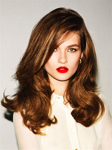how to blowdry shaggy hairstyles 37 best images about blow dry styles on pinterest