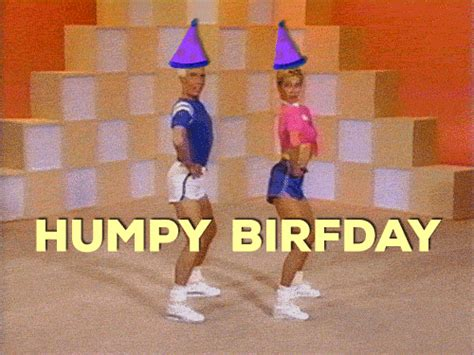 images gif happy birthday happy birthday hump gif by birthday bot find share on