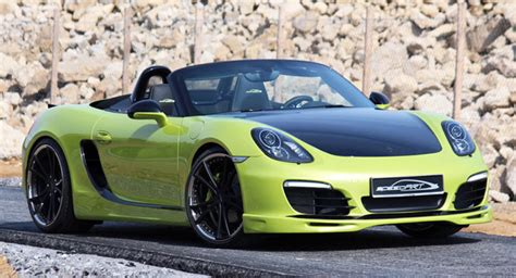 Porsche Boxster 981 Tuning by Speedart Details Its Sp81 R Tuning Program For The New