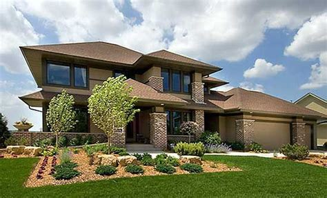 modern prairie house plans plan 14469rk prairie style home plan house and modern