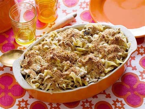 easy turkey noodle casserole recipe turkey noodle casserole recipe rachael food network