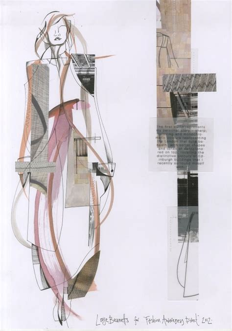 fashion design portfolio layout best 25 fashion illustration collage ideas on pinterest
