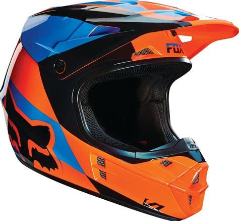 motocross helmets closeouts 169 95 fox racing v1 mako dot helmet 234747