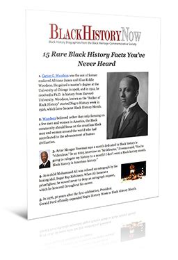 biography black history facts 15 rare black history facts you ve never heard biography