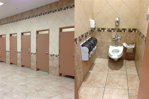 s s bathrooms after contracting food poisoning while on the road