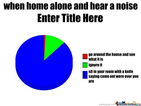 rmx home alone and hear a noise by slendy man meme center