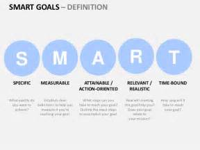powerpoint smart templates smart goals powerpoint template