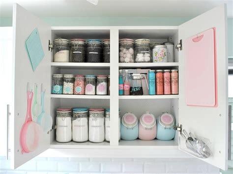 baking storage organized baking cupboard home kitchen pinterest