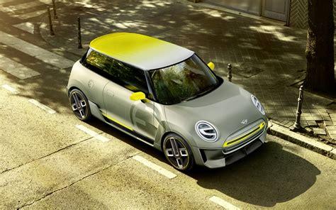 mini car electric new concept previews mini electric car coming in 2019
