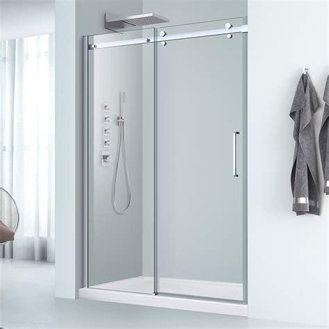 Fiat Shower Doors Abbott Rolling Alcove Shower Door Single Threshold Acritec Industries