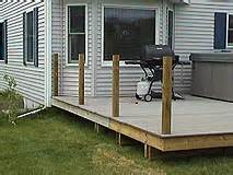 Handrail Ends How To Install 4x4 Posts For Deck Handrails Framing