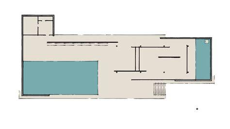 mies der rohe barcelona pavillon grundriss offener grundriss