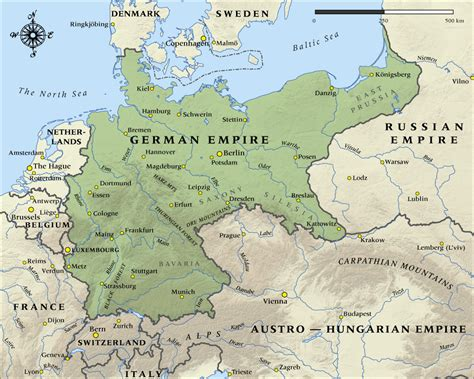 germany ww1 map map of the german empire in 1914 nzhistory new zealand