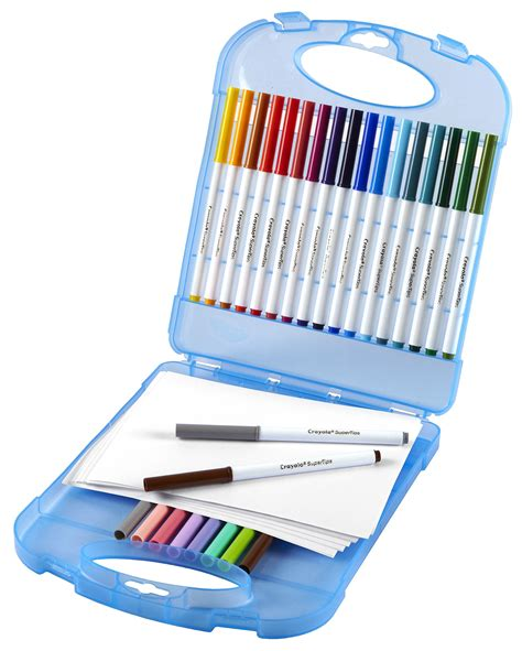 Crafts With Paper And Markers - crayola washable markers with paper set coloring pens