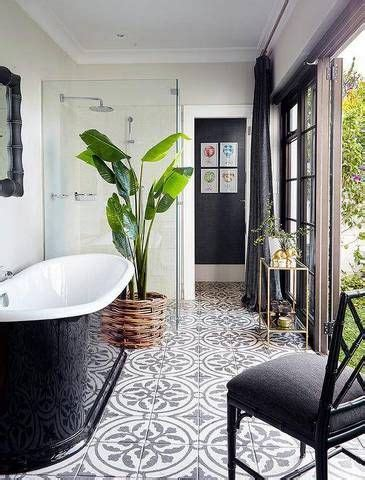 Black And White Bathroom Tile Ideas 25 best ideas about cement tiles on pinterest encaustic