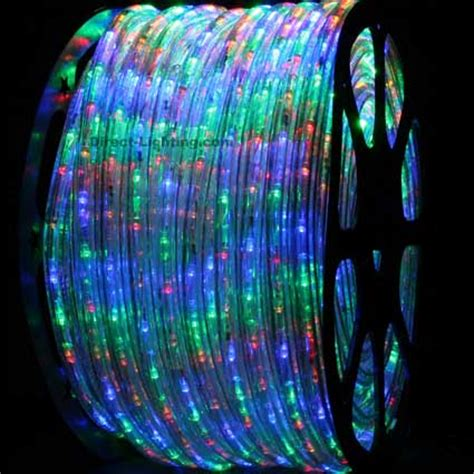 led rope lights 150ft h109 multi color direct
