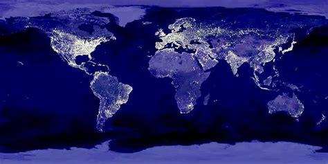 imagenes satelitales nocturnas vista satelital nocturna de la tierra 171 la otra opini 243 n