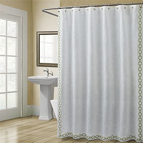shower stall curtains 54 x 78 buy croscill 174 landon 54 inch x 78 inch stall size shower