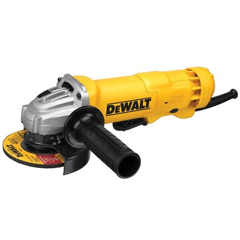 dewalt 11 corded 4 1 2 in small angle grinder dwe402w