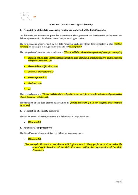 Gdpr Contract Pictures To Pin On Pinterest Thepinsta Gdpr Contract Template