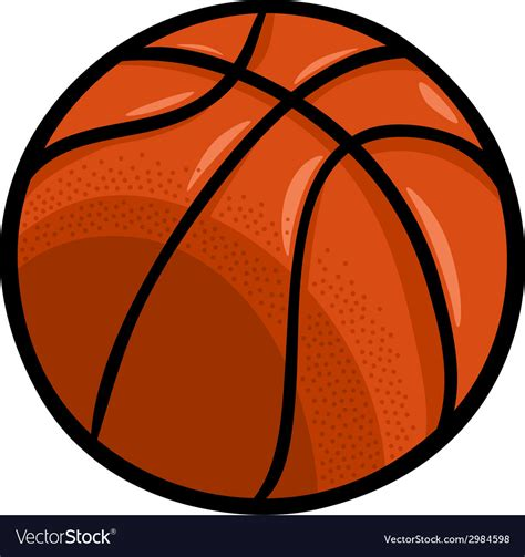 Basketball Clipart Vector Basketball Clip Royalty Free Vector Image