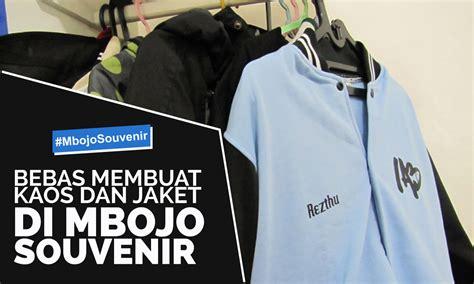 usaha membuat jaket bebas membuat kaos dan jaket di mbojo souvenir