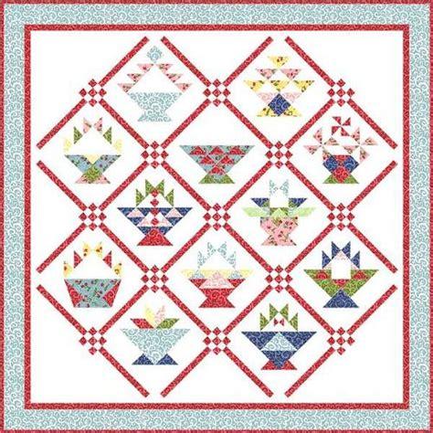 quilt pattern basket patterns for basket blocks quilts baskets pinterest
