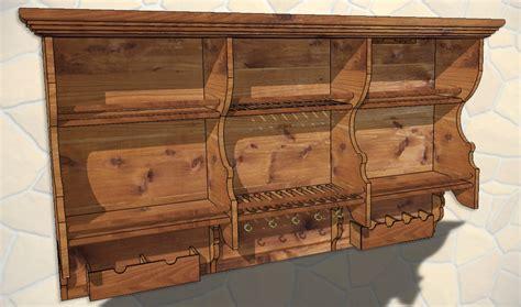 kitchen rack designs reloading bench diy wood kitchen shelf plans