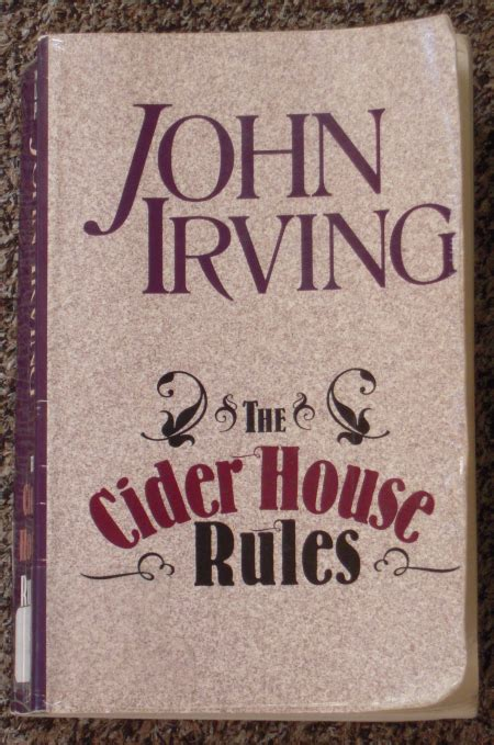 the cider house rules book gluten free book club the cider house rules