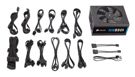 Corsair Hx850i 850 Watt 80 Platinum Fully Modular Cp 90200073 Eu corsair hx850i 850 watt fully modular 80 platinum power supply cp 9020073 au centre