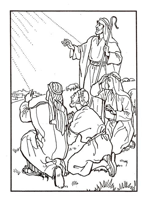 nativity coloring pages with scripture 204 best images about sunday school colouring 3 on