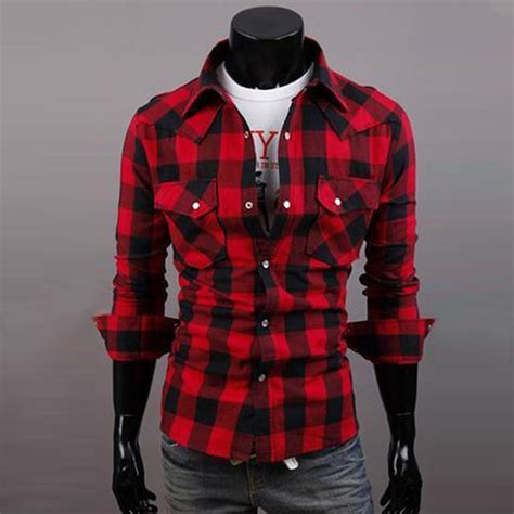 20708 Black Green Fashion Plaid Sale Blouse mens and black shirt is shirt