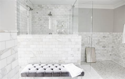 marble and subway tile bathroom top tips on choosing the shower tiles for your bathroom