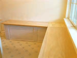 how to repair how to build a banquette kitchen