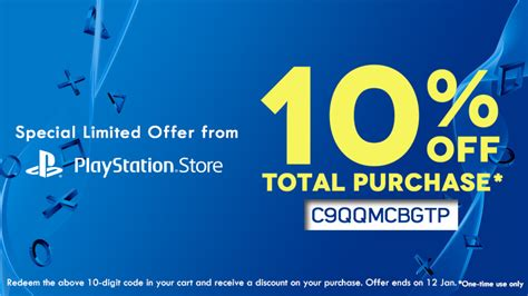 discount voucher psn playstation asia is offering 10 discount code to