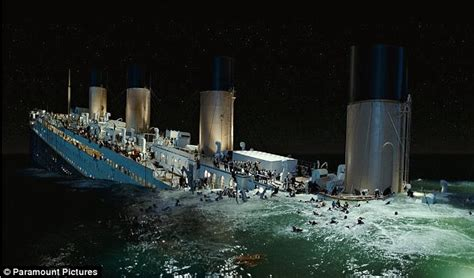 titanic boat sinking scene titanic james cameron explains why jack couldn t climb on
