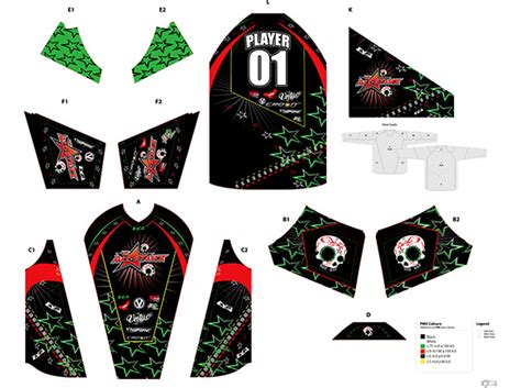 2013 Nppl Planet Eclipse Jerseys On Behance Paintball Jersey Template