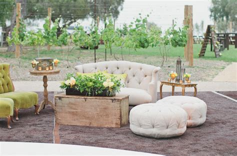 Lounge Chairs For Outside Design Ideas Outdoor California Wedding With Creative Florals Alyssa Ben Green Wedding Shoes Weddings