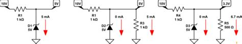 current limiting resistor zener diode replacing zener diode with a resistor in current limiter circuit electrical engineering stack