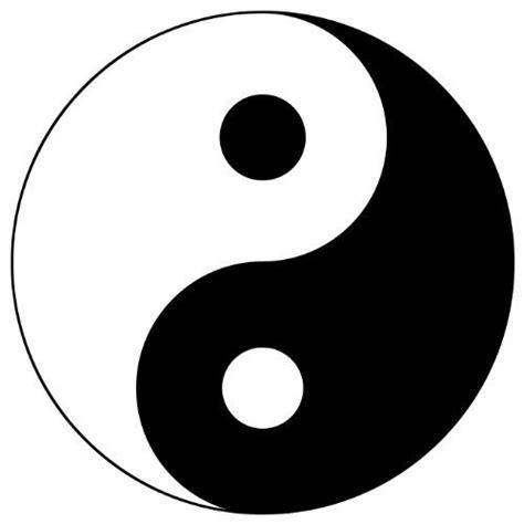 Cutting Sticker Ying Yang Tionghoa Siluet Wall Stiker Keseimbangan ying yang symbol wall sticker decal ying yang sign silhouette decoration painting