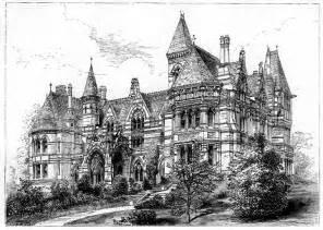 Gothic Revival Home Plans Eatington Now Ettington Park 1858 Designed By J Prichard